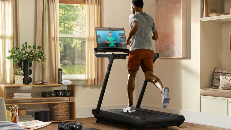 The Tread treadmill. Pic: Peloton