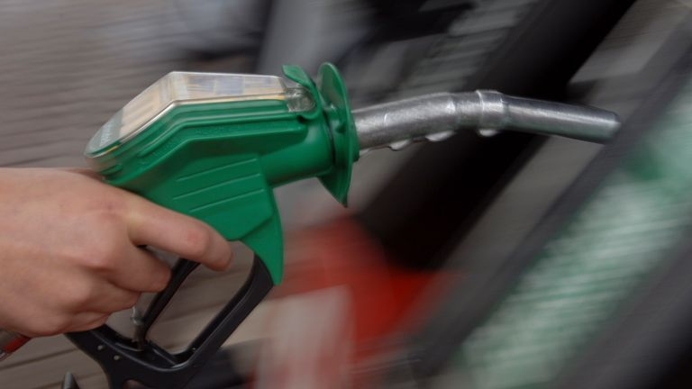 Petrol and diesel costs rose in February as oil prices surged on market forecasts of improved demand. Pic: AP