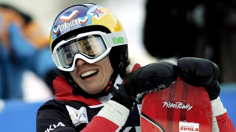 Olympic snowboarder Julie Pomagalski dies in avalanche at 40. Pic is from 2006. Pic: AP