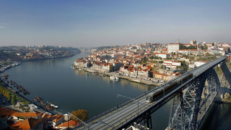 Portugal says it is ready to welcome UK tourists who are 'immune' or test negative. Pic: AP