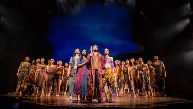 The Prince of Egypt will reopen at the Dominion Theatre in July. Pic: Matt Crockett