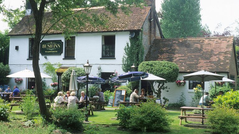Pubs can start serving outdoors from 12 April
