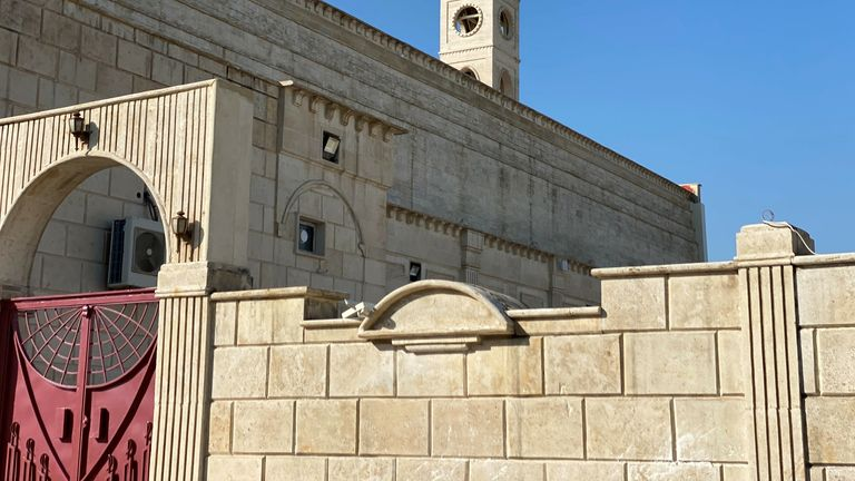 The church in Qaraqosh was a focus for the Islamic State's widespread barbarism