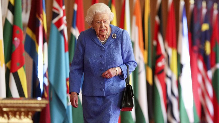 The Queen marks Commonwealth Day