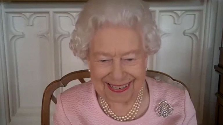 Queen speaks to governor of South Australia on video call