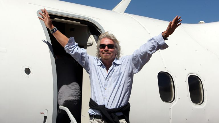 Virgin Atlantic Airways will receive a £100m loan from Sir Richard Branson's Virgin Group