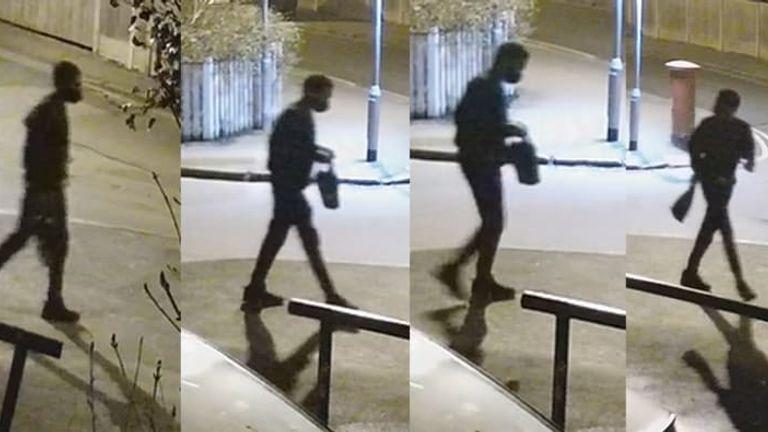 ریچارد اوکوروگی ، دانشجوی گمشده.  عکس: پلیس متروپولیتن