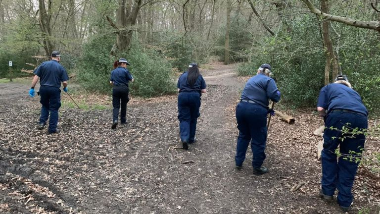 The search for missing student Richard Okorogheye has now moved to Epping Forest. Pic: Metropolitan Police