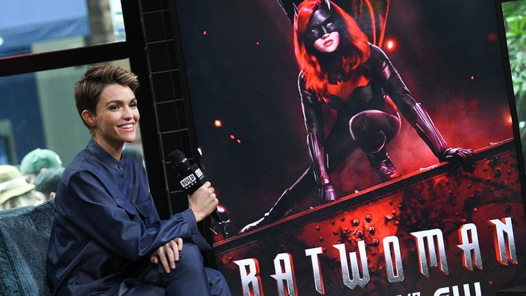 Ruby Rose previously played the role of Kate Kane in Batwoman. Pic: Evan Agostini/Invision/AP