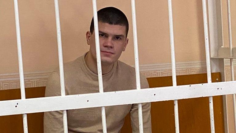 Vladislav Kanyus in the dock