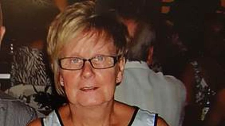 Undated handout file photo issued by Gwent Police of Ruth Williams who was strangled to death in Cwmbran, south Wales, on March 28 last year. Pensioner Anthony Williams, who pleaded guilty to manslaughter by reason of diminished responsibility, has been jailed for five years