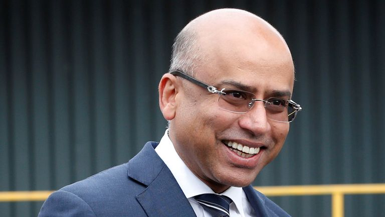 Liberty Steel's Sanjeev Gupta (file pic)