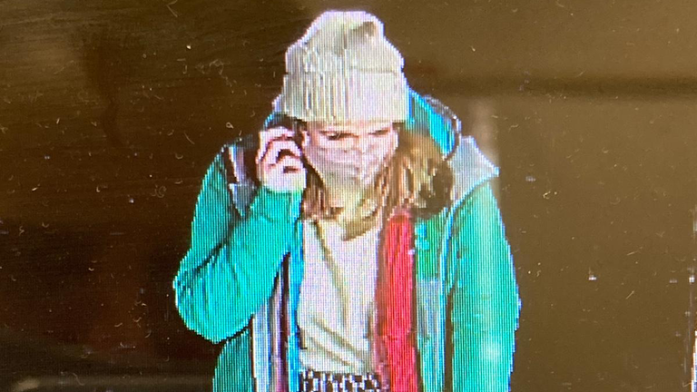 CCTV image of Sarah Everard on the night she went missing