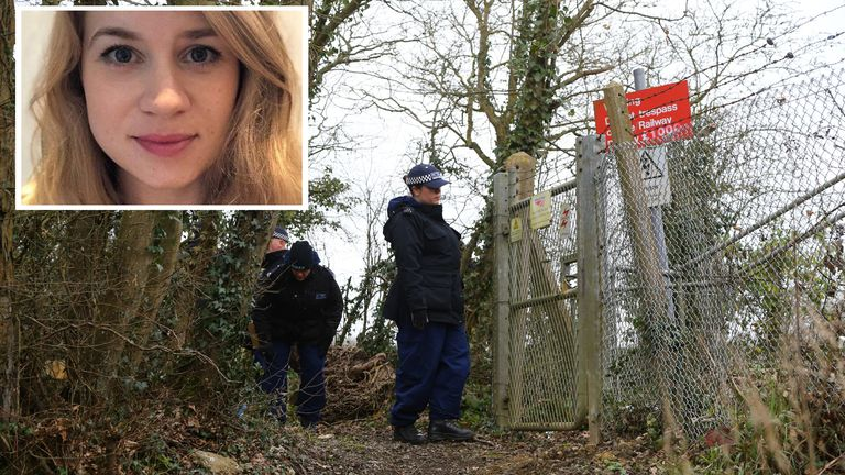 Sarah Everard was last seen at 9.30pm on Wednesday 3 March in Clapham, south London