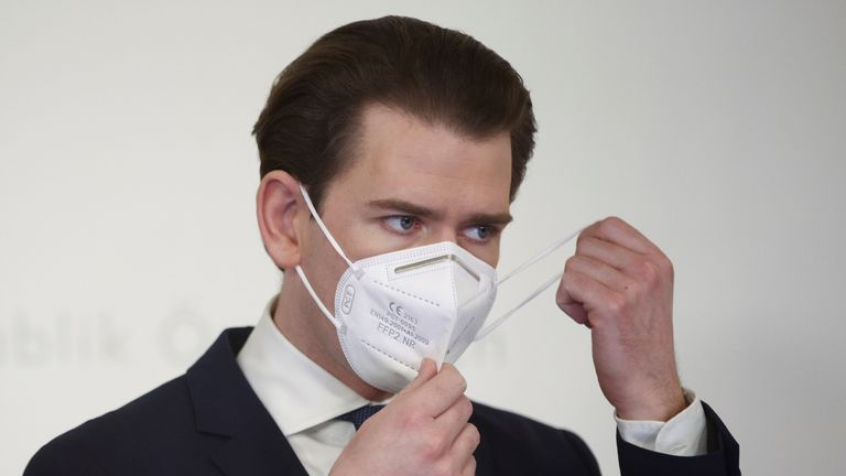 Sebastian Kurz says Austria will 'no longer rely on the EU' for vaccines