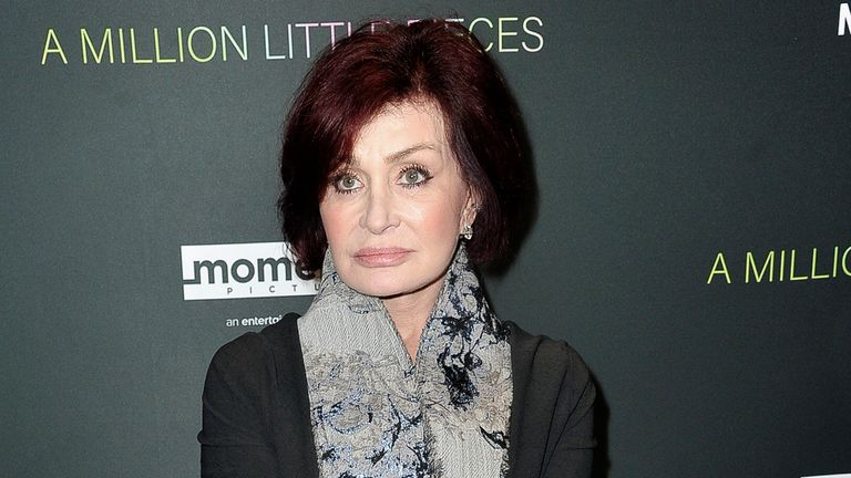 Sharon Osbourne had defended her friend Piers Morgan during an episode of The Talk. Pic: AP