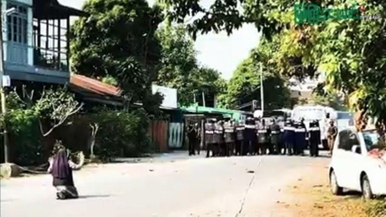 Sister Ann Roza Nu Tawng. Pic: Myitkyiana News Journal