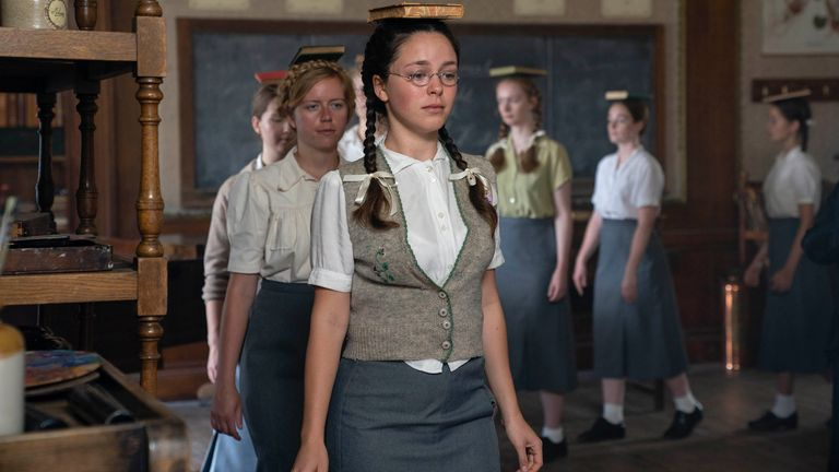 Daughters of the Nazi elite in Six Minutes To Midnight. Pic: Six Minutes To Midnight/Sky Cinema/Lionsgate