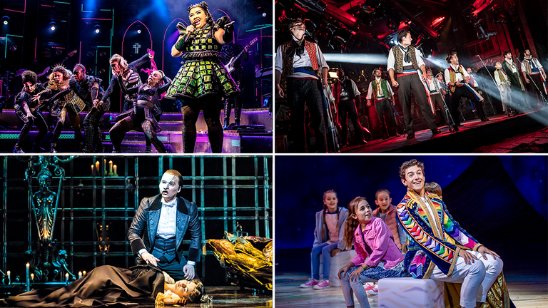 Six, Les Mis, Phantom of the Opera and Joseph are among the shows reopening soon