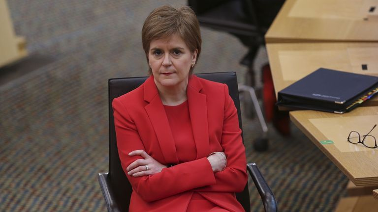 Nicola Sturgeon says she stands by the evidence she gave to the committee