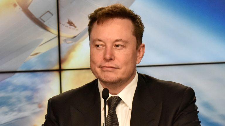 ایلون ماسک بنیانگذار و مهندس ارشد SpaceX