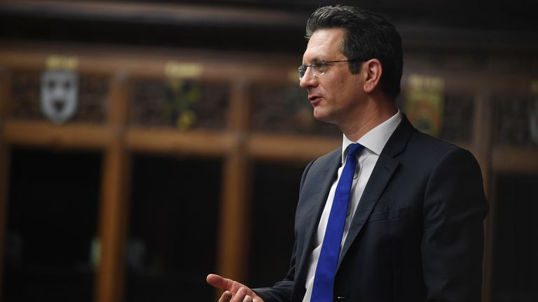 Conservative MP Steve Baker called the powers 'excessive and disproportionate'. Pic: UK Parliament/Jessica Taylor