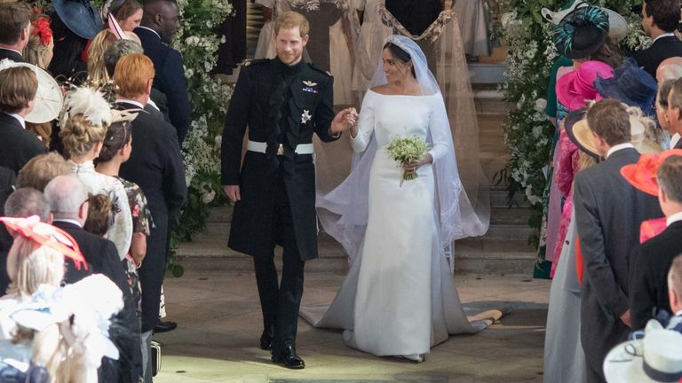 Harry and Meghan got married on 19 May 2018 in Windsor