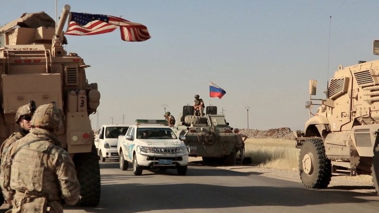 Northern Syria is the only place in the world where the Russian and American militaries brush past each other