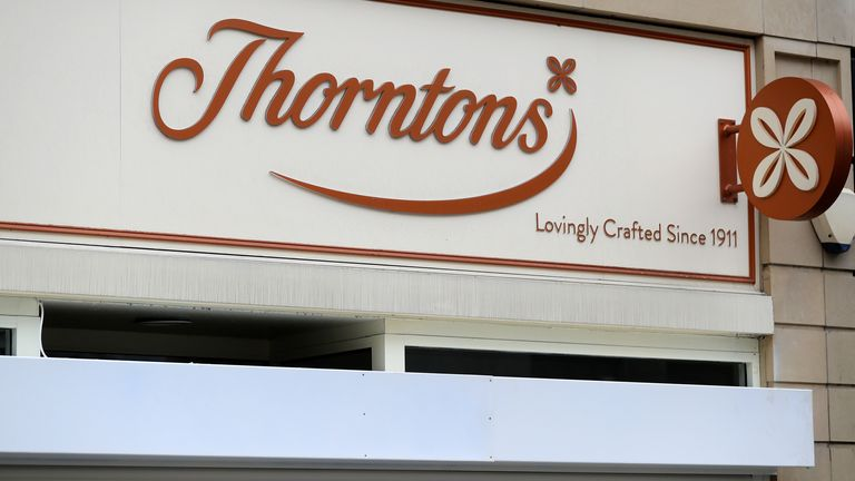 Thorntons has 61 stores employing just over 600 staff