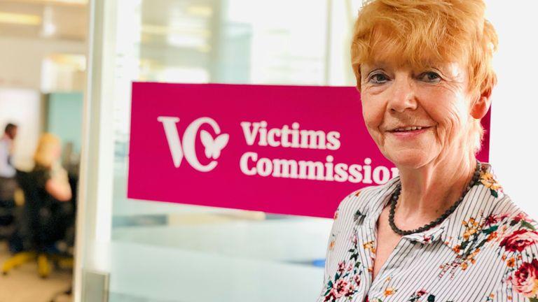 Victims' Commissioner Dame Vera Baird