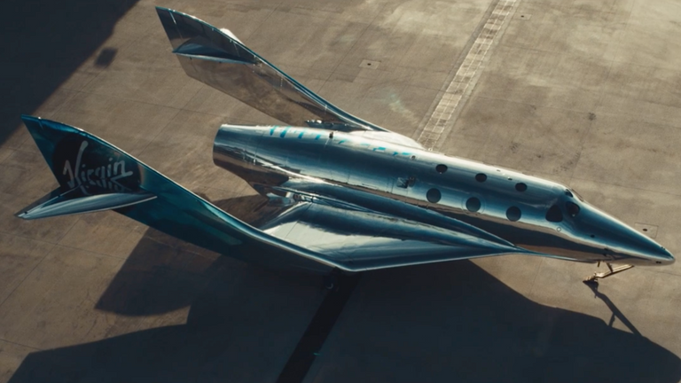 Virgin Galactic has unveiled its newest model of spaceplane, the SpaceShip III