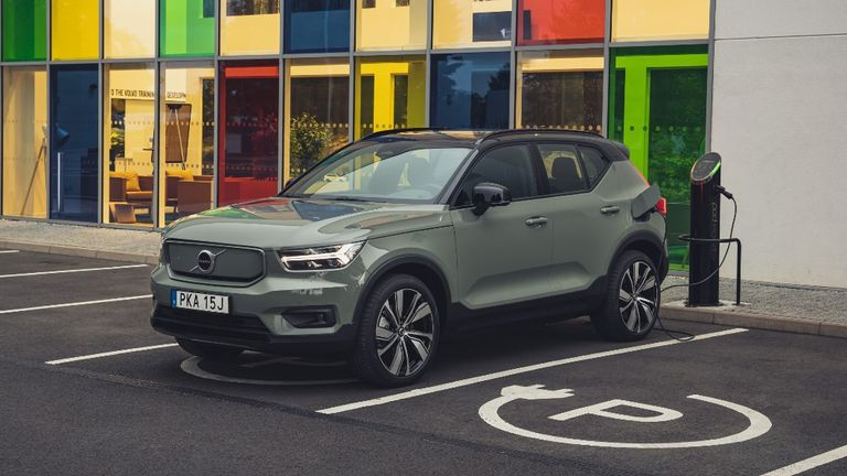 The XC40 is Volvo's second all-electric car