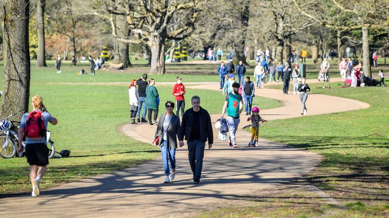 Four people from two households will be able to meet outdoors to socialise in Wales from this weekend