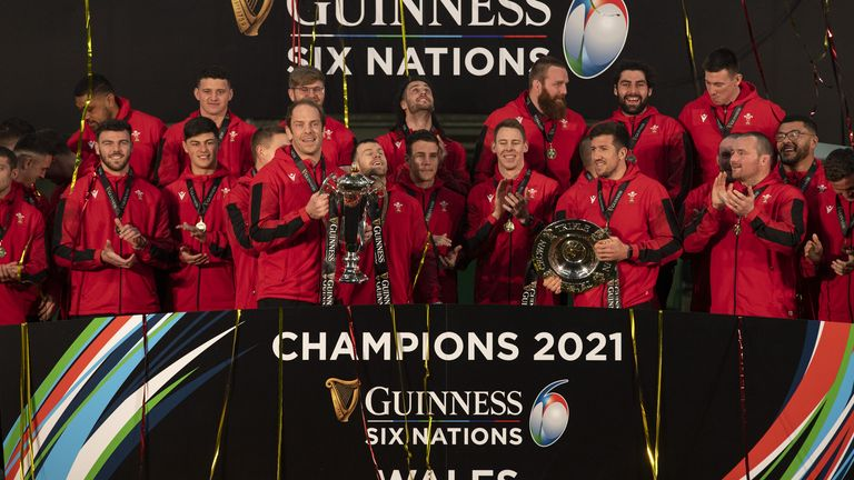 Wales claimed both the Triple Crown trophy and the Six Nations trophy