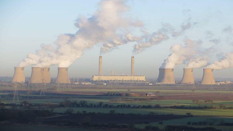 West Burton A, near Retford in Nottinghamshire, began generating electricity in 1966. Pic: EDF