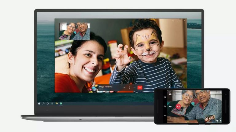 Users will be able to video call between desktop and mobile devices. Pic: WhatsApp Blog