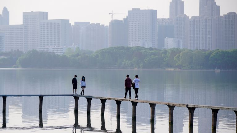 Wuhan's East Lake