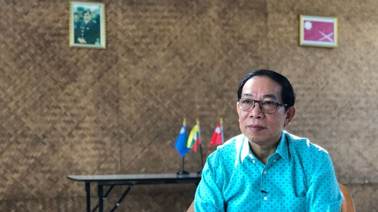 Lieutenant General Yawd Serk, a political and military commander in the country's Shan State