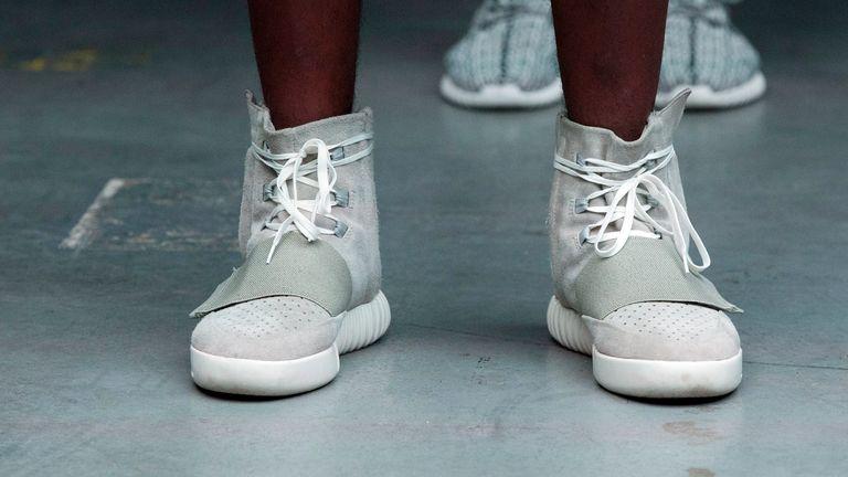 Yeezy ، تجارت کفش ورزشی و پوشاک West با Adidas AG و Gap Inc. ، 3.2 میلیارد دلار (2.2 میلیارد پوند) تا 4.7 میلیارد دلار (3.4 میلیارد پوند) ارزش گذاری شده است.  عکس: FASHION SOCIETY