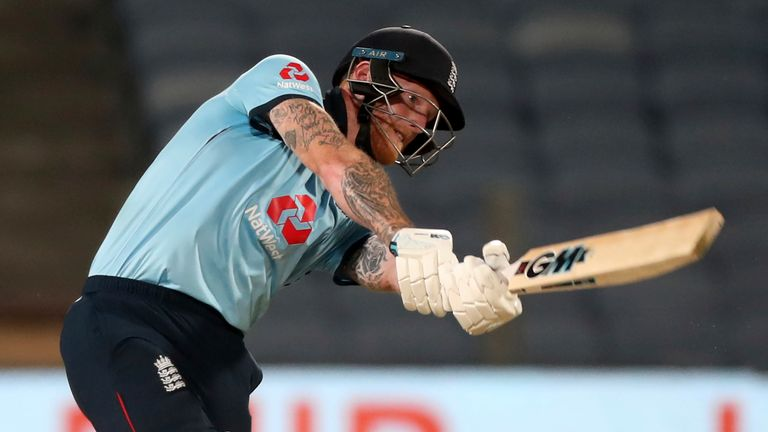 The best of England's sixes from the second ODI against India