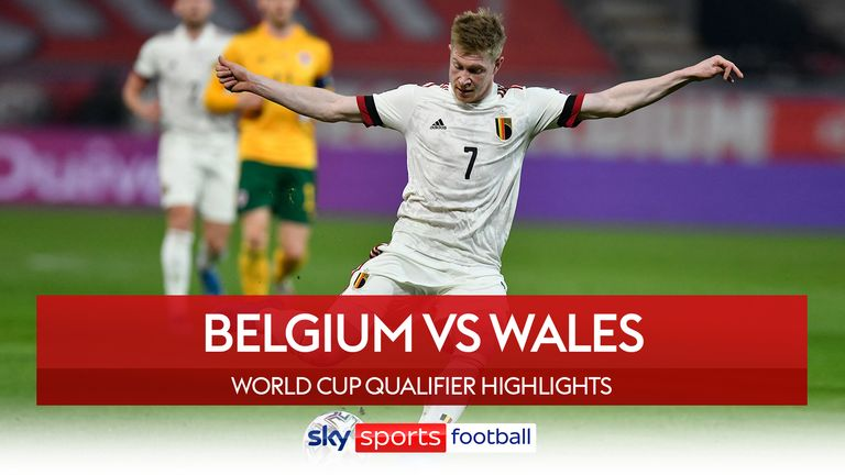 Highlights of Belgium v Wales from FIFA World Cup European Qualifying Group E