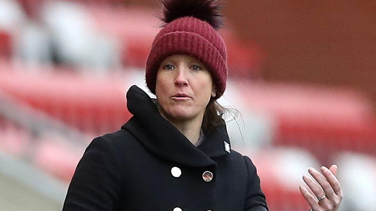 Manchester United Women boss Casey Stoney
