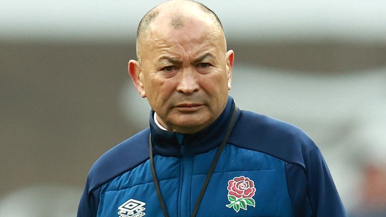 RFU chief executive Bill Sweeney says both Eddie Jones' pedigree and the side's poor Six Nations campaign must be taken into account as they review his performance.