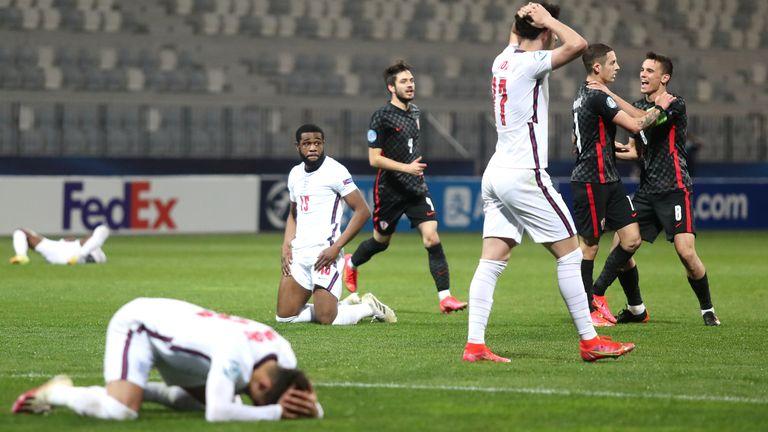 Croatia's latest cry kicks Eng U21 |  Video |  Watch TV show