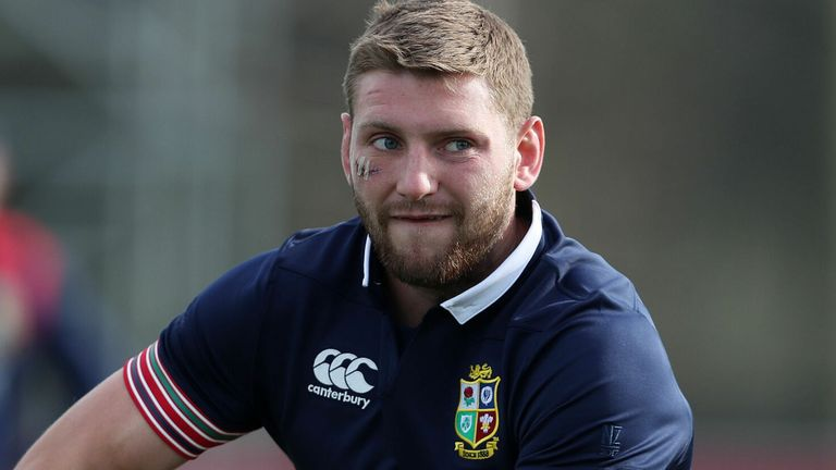 Finn Russell says it's 'a great thing' that the Lions tour of South Africa is set to go ahead as originally scheduled