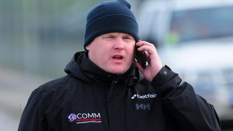 Gordon Elliott has lost his yard sponsor eCOMM Merchant Solutions