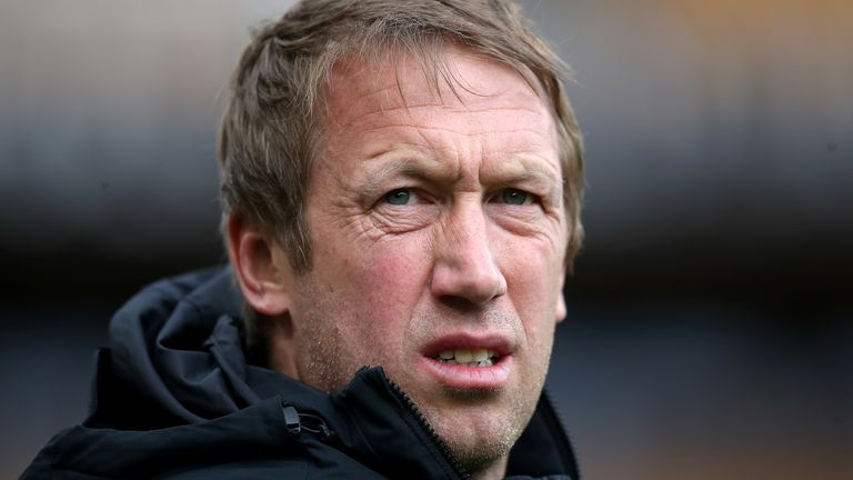 Brighton boss Graham Potter praised his side's display in Sunday's 2-1 defeat at Manchester United and said his side deserved a draw