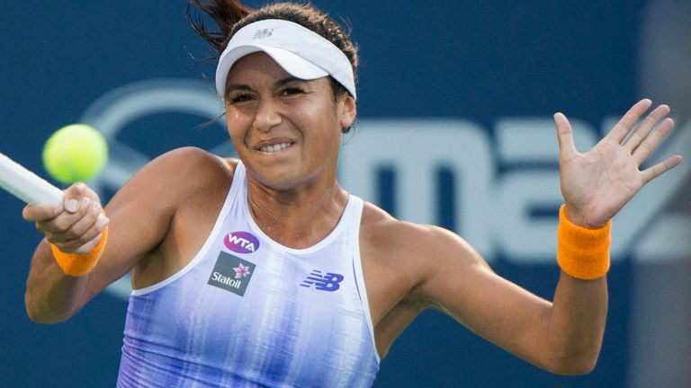Heather Watson says she receives death threats and racism online. She has called for more to be done to prevent the abuse