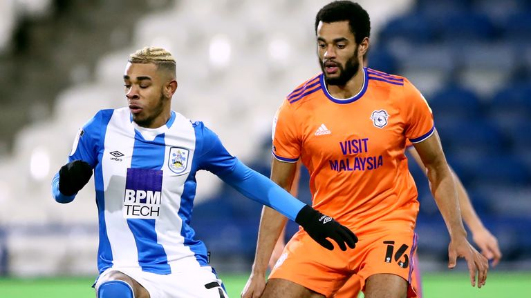 Huddersfield Town v Cardiff City - Sky Bet Championship - John Smith's Stadium
