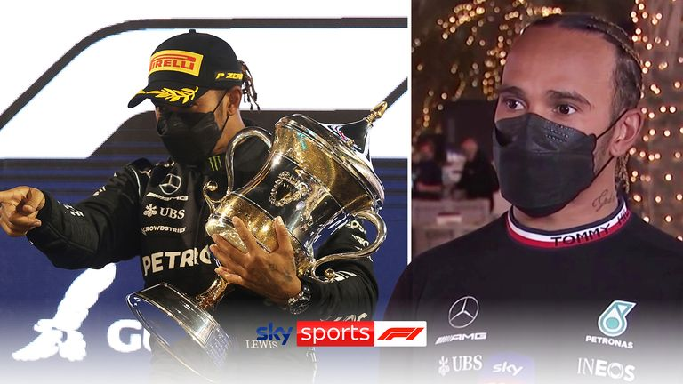 Lewis Hamilton vs Max Verstappen: Bahrain GP 'special' title lights up for 2021 season